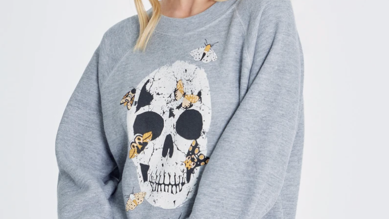 Moth Skull Sommers Sweatshirt