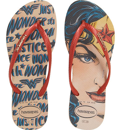 Slim Wonder Woman Flip-Flops