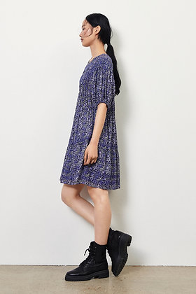 ba&sh:  iris. SHORT FLORAL DRESS