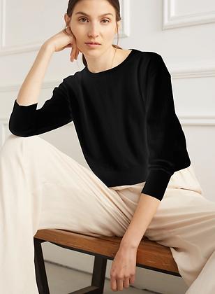 Déluc: Zooey Sweater in Black