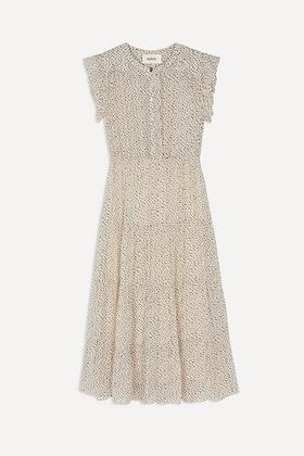 ba&sh: Alienore | Print Midi Dress
