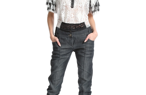In Earnest: Fringe Accent Top