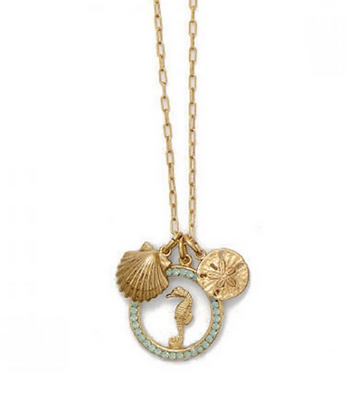 La Vie Parisienne: Seaside Charm Necklace