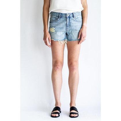Unpublished: LAINE   Devoted (denim shorts)
