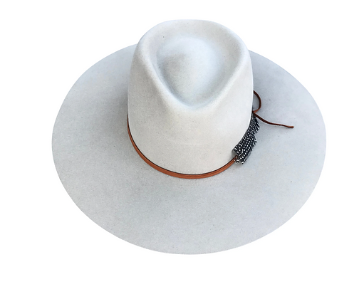 Lovely Bird: Montana Antique Fedora Hat
