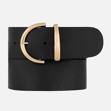 Amsterdam Heritage: Desiree | gold hardware wide leather belt