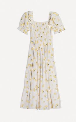 The ba&sh: Midi Floral Dress | Ecru Kiwane