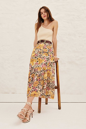 ba&sh: Floral Maxi Skirt