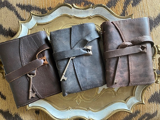 Binding Bee: Leather Journal with Key