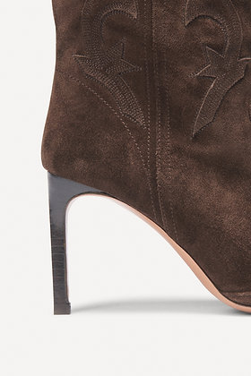 ba&sh: caitlin. SUEDE ANKLE BOOTS
