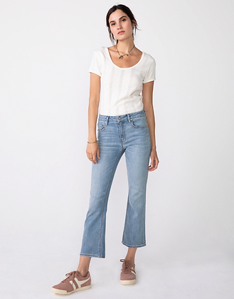Unpublished: Margaux Cropped Demi Flare in Day Tripper