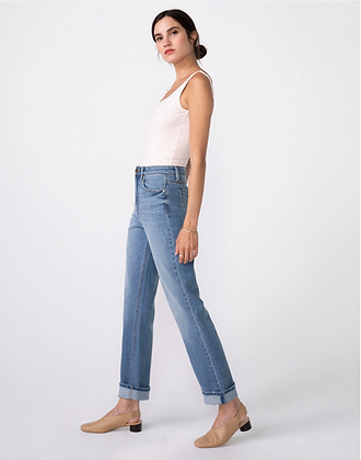 Unpublished: WILLA High Rise Vintage Mom Fit in Nevermind