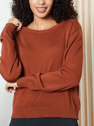 Known Supply: Palmer Sweater | Cinnamon