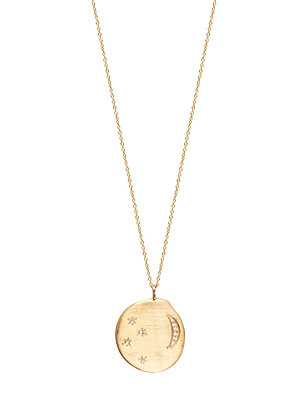 Louise Hendricks: Divine Hours necklace XL | gold plated necklace