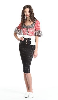 In Earnest: Portrait Flirt Dress