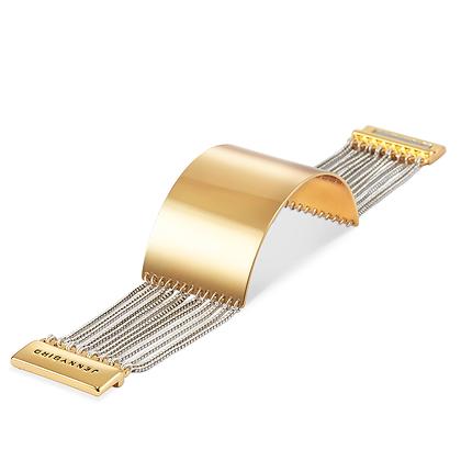 Jenny Bird: Bracelet Billie Cuff-Gold