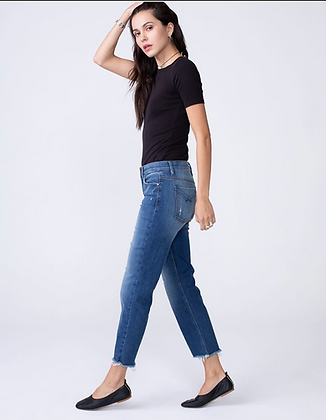 Unpublished: KENZIE | Mid Rise Modern Mom Fit Straight in Vital