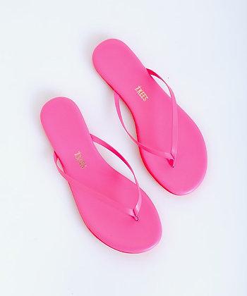 Tkees:  Flip flops - Lily Neon Pink