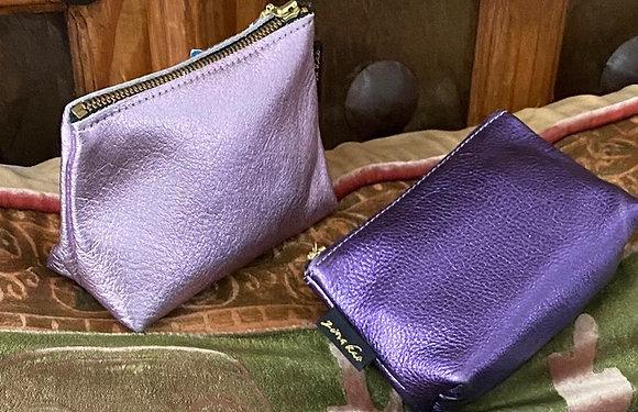 Zina Kao: Turner Grape & Lilac Makeup Bag