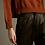 Thumbnail: Déluc: Millie Vegan Leather Pant   Black