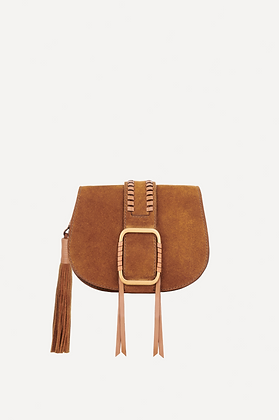 ba&sh: Teddy | Brown Crossbody Bag