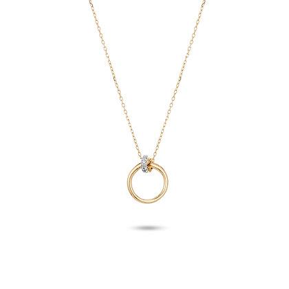 Adina Reyter: Pavé Knot Necklace