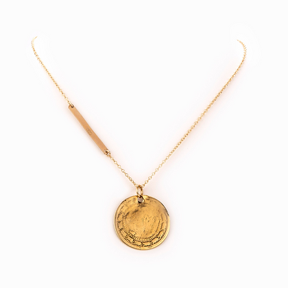 Taylor and Tessier: Wailea Gold Necklace
