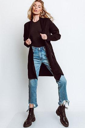 Delúc: Gianna Coat in Black