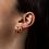 Thumbnail: Jenny Bird: Teeni Toni Huggie Earrings
