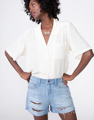 Unpublished: Laine Boyfriend Shorts in Heatwave