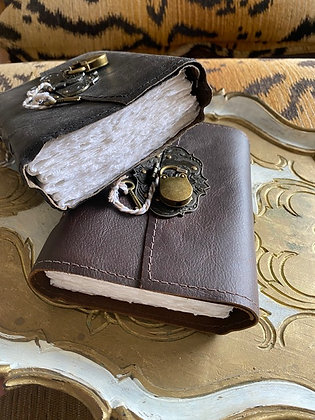 Binding Bee: Leather Journal with Lock