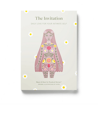 Rosebud Woman: The Invitation |  Daily Love for Your Intimate Self Book