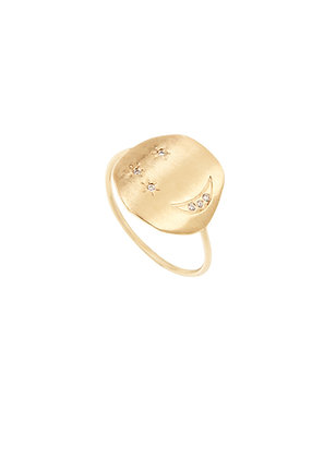 Louise Hendricks: Divine Hours ring | gold plated