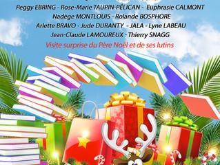 Village des Auteurs -Ville de Saint-Esprit, le 19 décembre 2020