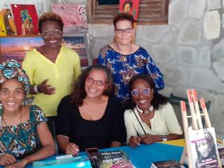Rencontre avec nos auteurs à l'Habitation MALGRE TOUT de Trinité 972
