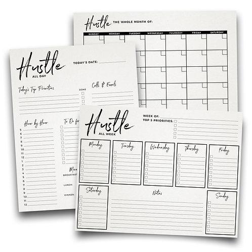 Hustle Planner Printables