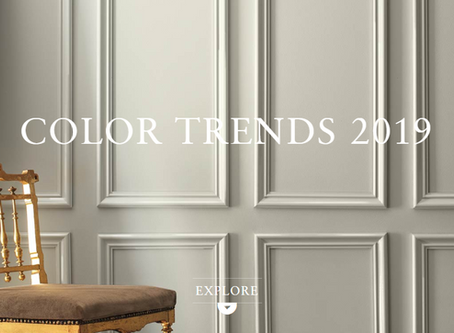 COLOR TRENDS 2019