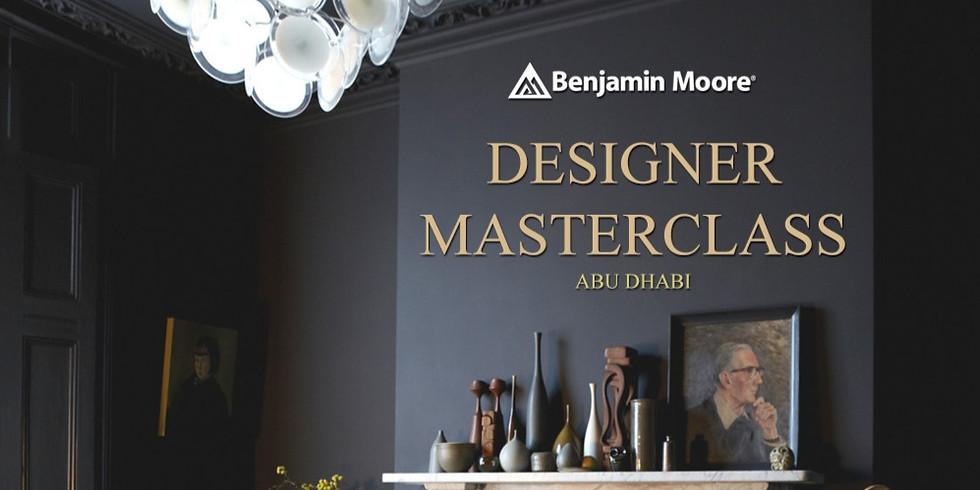 DESIGNER MASTERCLASS  ABU DHABI