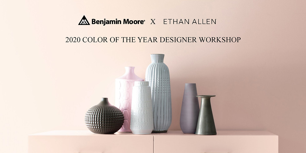 2020 COLOR OF THE YEAR DESIGNER MASTERCLASS