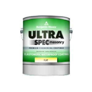 Ultra Spec Masonry Elastomeric Waterproof Coating Flat