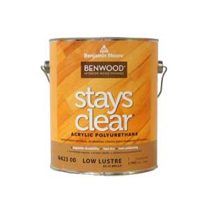 Benwood Stays Clear - Acrylic Polyurethane - High Gloss