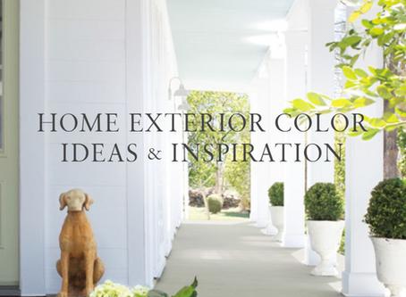 HOME EXTERIOR COLOR IDEAS & INSPIRATION