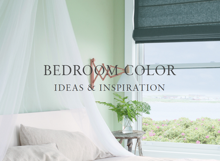 BEDROOM COLOR IDEAS & INSPIRATION