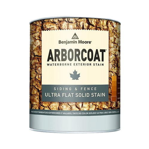 ARBORCOAT Ultra Flat Waterborne Solid Stain