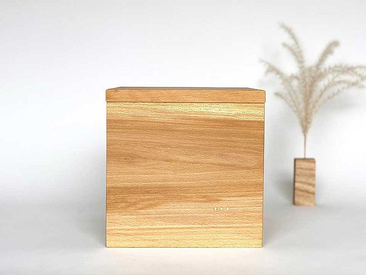 Urne minimaliste en hêtre