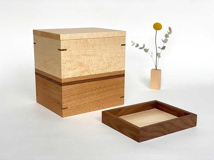 NEW Urn With Keepsake Tray