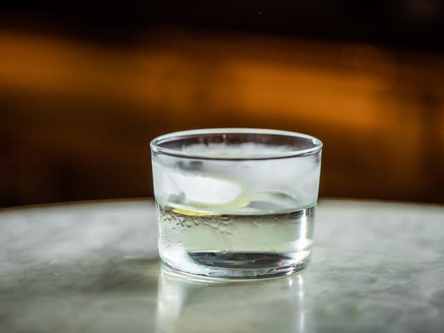 Sake & Cucumber Martini