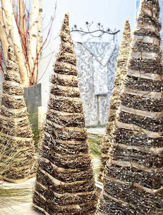 Christmas trees from Junior League of Hamilton-Burlington Holiday House Tour