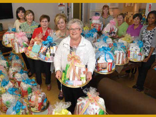 Good Shepherd Thanks JLHB for 80 Gift Baskets