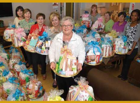 Good Shepherd Thanks JLHB for 80 Gift Baskets
